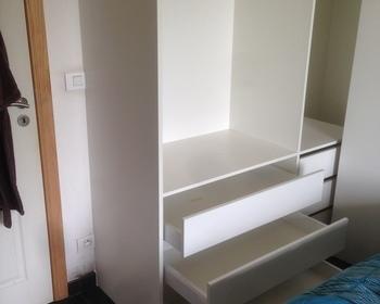Interieurbouw Bjorn Vanthuyne - Realisaties - slaap kamer kasten
